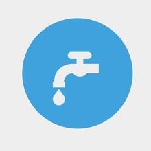 Tap Water Tap Icon Vector Illu...