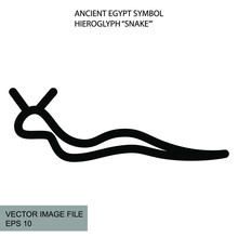 Ancient Mystic Egyptian Symbol...