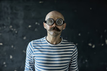 Portrait Of A Steam Punk Hipst...