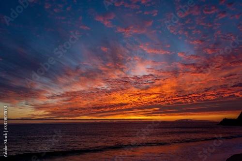 Sunset at Mugu Rock Point Mugu