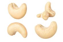 Cashews Isolated On White