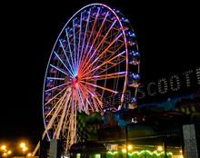 Algeria Ferris Wheel Illuminated