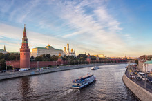 View Of Kremlin And River In M...