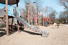 Closed Public Playground For C...