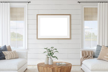 Modern Living-room Interior. 3...