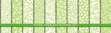 Floral Seamless Pattern Set. V...