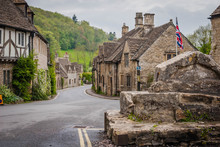Castle Combe, Small Village In...