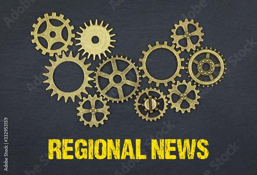 Regional News Wallpaper Mural