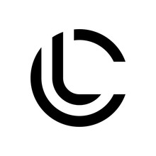 Letter LC, CL Logo Template