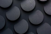 Dark Circle Texture Background