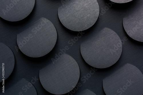 Dark circle texture background - 332983751