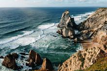 Rocky Coast Of Cabo Da Roca In...