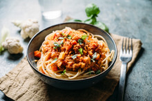Food: Vegetable Bolognese With Cauliflower