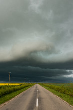 Stormy Weather Road
