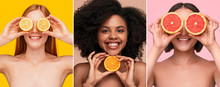 Optimistic Multiracial Women S...