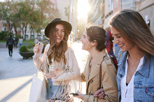 Best Friends Shopping Day In C...