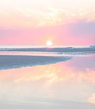 Siesta Key Sunset Reflection