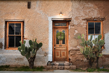 Rustic Old Door And Windows Wi...