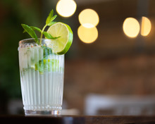 Classic Cuban Mojito Cocktail