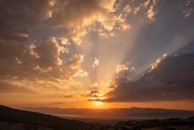 Beautiful Sunset And Dramatic ...
