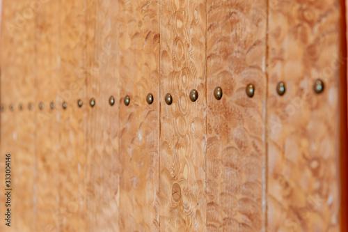 Vászonkép 凸凹の木の板の壁材
