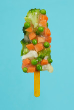 Popsicle Made Of Mixed Veg Aga...
