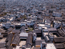 Dali Rooftops Aerial View