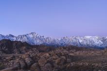 Blue Hour In The Sierra Nevada