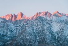 Sunrise In The Sierra Nevada