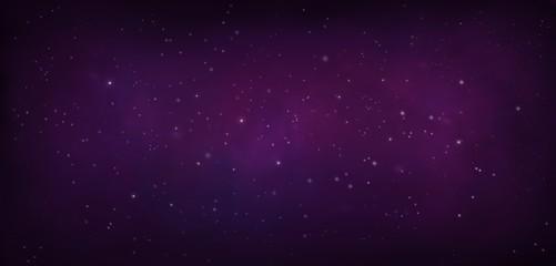 Purple Nebula in the Universe,  Galaxy star