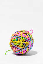 Ball Of Elastic Rubber Bands