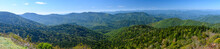 Appalachian Mountain View Along The Blue Ridge Parkway