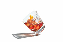 Glass Of Whiskey Cocktail