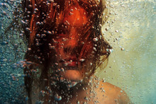 Portrait Of A Girl Underwater ...