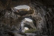 Devetashka Cave Triple Hole In...
