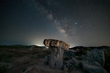 Milky Way Panorama Above A Mus...