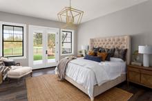 Master Bedroom Interior In New...