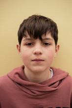Closeup Portrait Of A Young Te...