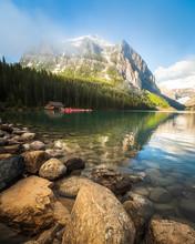 Lake Louise Reflection Banff A...