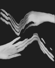Hands Black And White Social D...