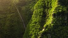 Haena State Park. Hawaii. Lush...