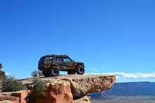 Jeep On Top Of The World Moab ...