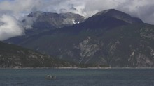 Alaskan Fishing Boat With Net ...