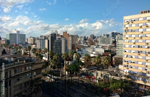 Photo Partial view of Porto Alegre city, south of Brazil.