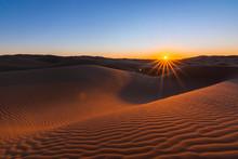 Glamis Dunes Desert Sunset