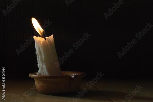 Una Luz para el mundo Canvas Print