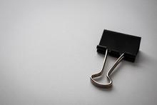 Black Binder Clip Paper Clip O...