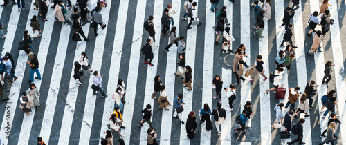 Fotografia Shibuya crossing