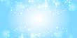 マスター2背景素材:玉ボケ 海 水 背景 ゴージャス 青色 クリスマス 雪 冬 水しぶき 波 キラキラ