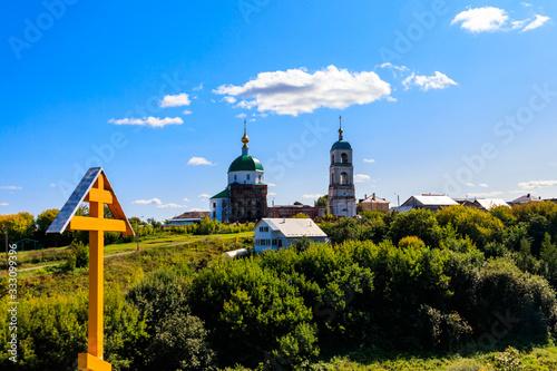 Photo Holy Trinity Church in the village Karacharovo near Murom, Russia